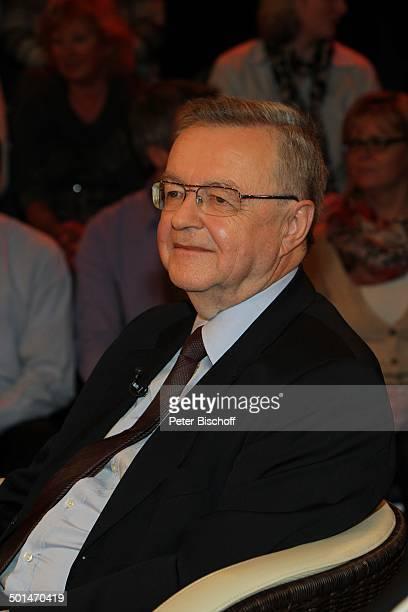 Prof Dr Wolfgang Eisenmenger ZDFTalkshow Markus Lanz HamburgBahrenfeld Deutschland Europa Studio TalkShow Brille Arzt Rechtsmediziner Promi BB CD PNr...