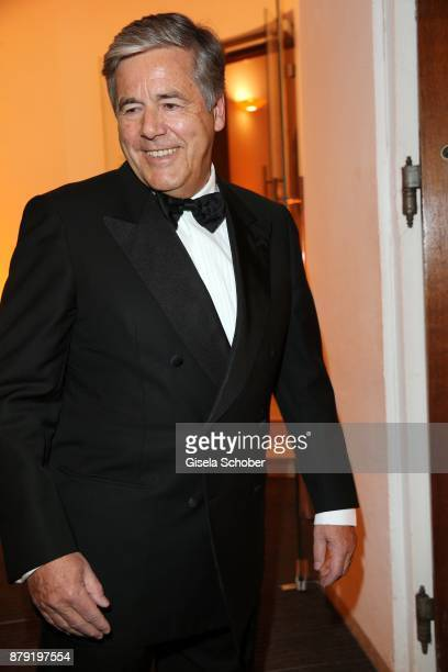 Prof Josef Ackemann former Deutsche Bank during the 80th birthday party of Roland Berger at Cuvillies Theatre on November 25 2017 in Munich Germany