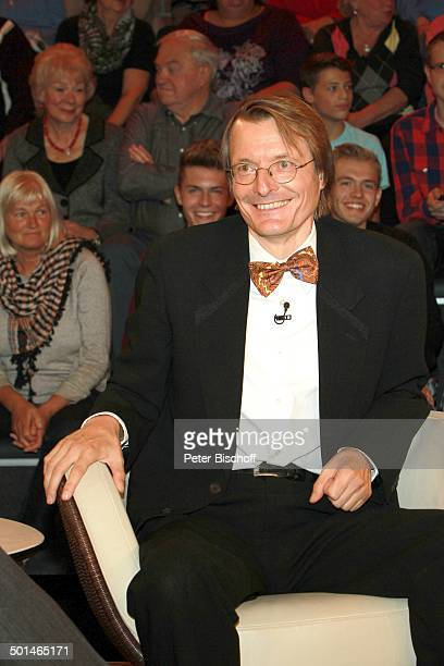 "Prof. Karl Lauterbach, ZDF-Talkshow ""Markus Lanz"", Hamburg-Bahrenfeld, Deutschland, Europa, Studio, Talk-Show, Politiker, Promi BB, CD; P.-Nr.:..."