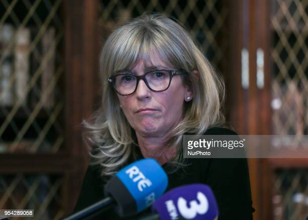 Prof Mary Horgan the President of the RCPI during a press conference with Clinical Expert Panel from the HSE to address public concern surrounding...