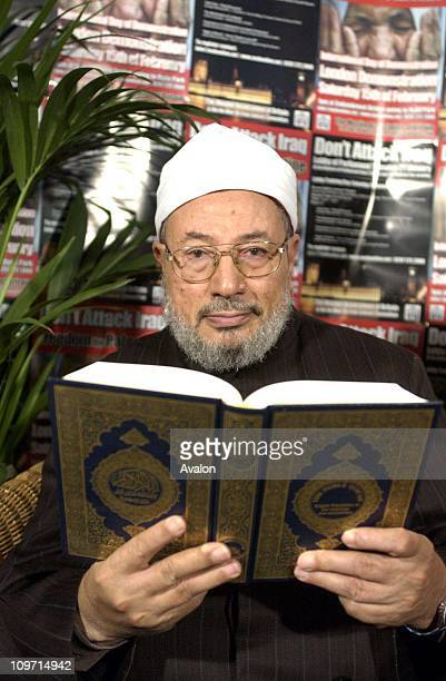 Prof SHAIKH YUSUF ALQARADAWI The worlds leading Islamic Scholar who held a press conference in London highlighting the reasons to resisit a war with...