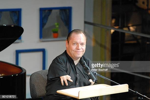 """Prof. Thomas Quasthoff, Benefiz-Gala """"10 Jahre Horizont e.V."""" - """"Swinging Jazz Night"""", Hotel """"Bayerischer Hof"""",. München, Bayern, Deutschland,..."""