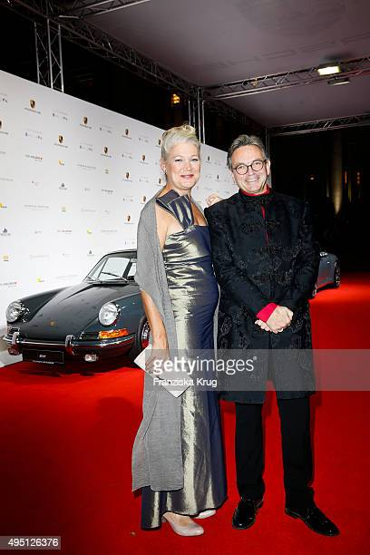 Prof Ulf Schirmer and guest attend the Leipzig Opera Ball 2015 on October 31 2015 in Leipzig Germany
