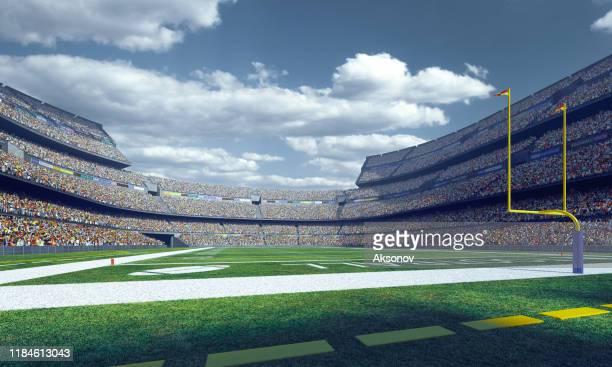 estádio de futebol americano profissional - futebol americano - fotografias e filmes do acervo
