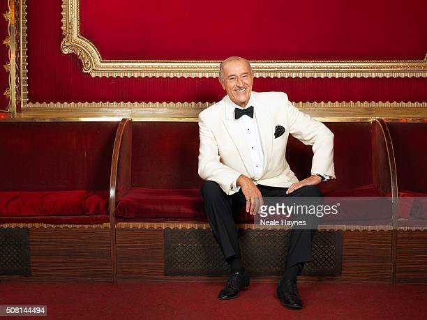 Professional ballroom dancer dance judge and coach Len Goodman is photographed for the Daily Mail on November 9 2015 in London England