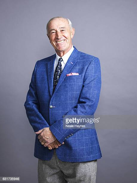 Professional ballroom dancer dance judge and coach Len Goodman is photographed for the Daily Mail on November 16 2016 in London England