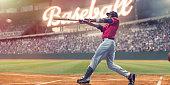 Professional baseball batter striking baseball during night game in picture id945608166?b=1&k=6&m=945608166&s=170x170&h=f0r fiox2bxz a1trkqb4rlxlzgm3l6ggaizllhmfrq=