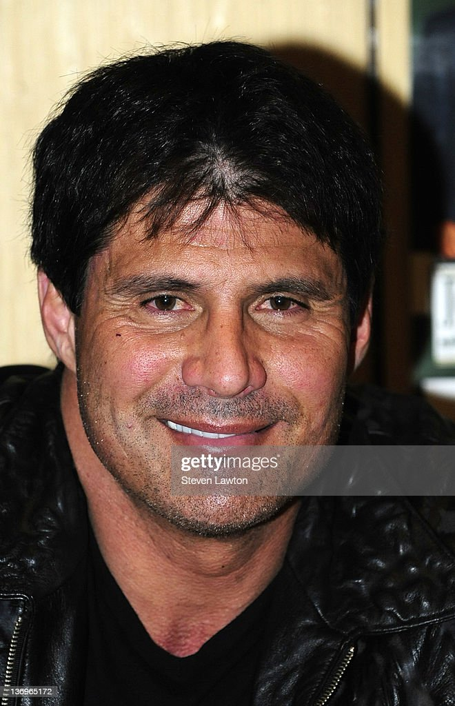 PBR Rock Bar & Grill Hosts Autograph Signing For Retired Major League Baseball Star Jose Canseco