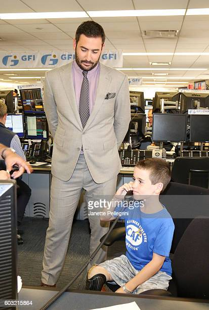 Professional baseball player Matt Harvey and Challenged Athletes Foundation spokesperson Jack Cunningham participate in the Annual Charity Day hosted...