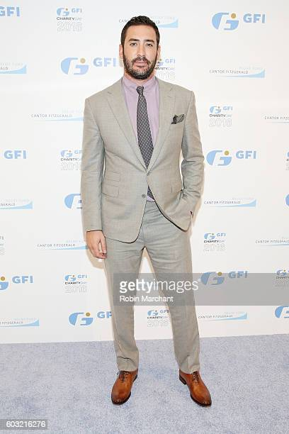 Professional baseball player Matt Harvey attends the Annual Charity Day hosted by Cantor Fitzgerald BGC and GFI at GFI Securities on September 12...