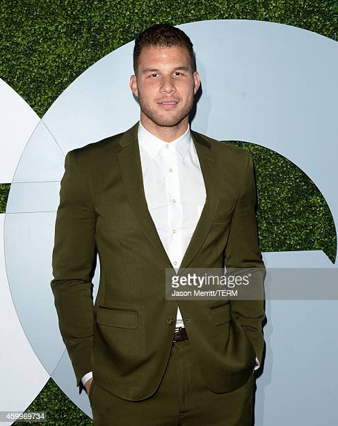 Professional basketball player Blake Griffin attends the 2014 GQ Men Of The Year party at Chateau Marmont on December 4 2014 in Los Angeles California
