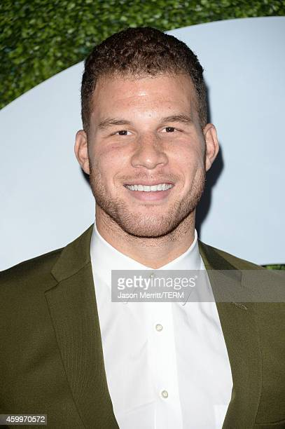 Professional basketball player Blake Griffin attends the 2014 GQ Men Of The Year party at Chateau Marmont on December 4, 2014 in Los Angeles,...