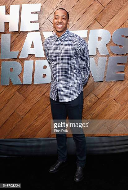 Professional basketball player C J McCollum attends The Players' Tribune Summer Party at No Vacancy on July 12 2016 in Los Angeles California