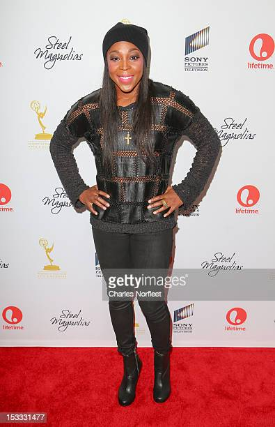 Professional basketball player Cappie Pondexter attends the 'Steel Magnolias' New York Premiere at Paris Theatre on October 3 2012 in New York City
