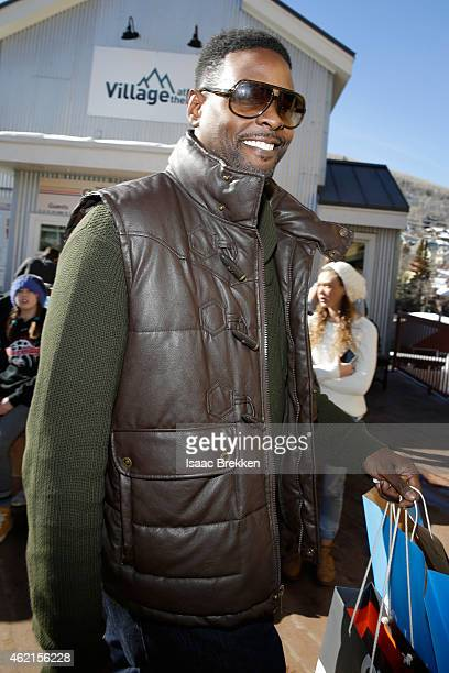 Professional Basketball player Chris Webber attends The Village at The Lift 2015 on January 25 2015 in Park City Utah