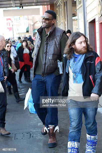 Professional Basketball player Chris Webber is seen on January 25 2015 in Park City Utah