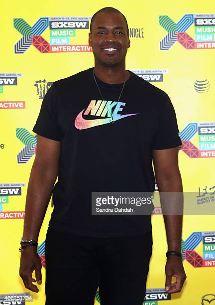 Professional basketball player Jason Collins attends 'Out on the Field: LGBT Pro Athletes in 2015' during the 2015 SXSW Music, Film + Interactive...