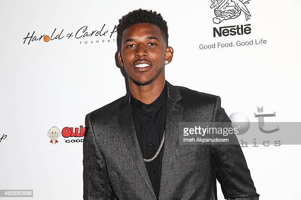 Professional basketball player Nick Young attends the 14th Annual Harold Carole Pump Foundation Gala at the Hyatt Regency Century Plaza on August 8...
