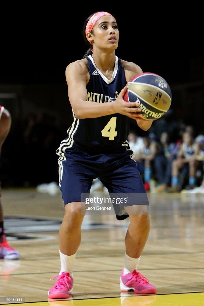 NBA All-Star Celebrity Game 2014 : News Photo