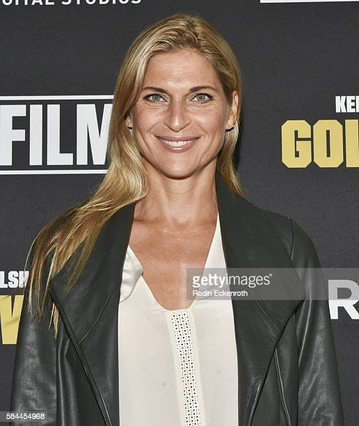 """Professional beach bolleyball player Gabrielle Reece attends the premiere of """"Kerri Walsh Jennings: Gold Within"""" at The Paley Center for Media on..."""