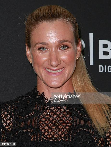 Professional beach volleyball player and threetime Olympic gold medalist Kerri Walsh Jennings attends the premiere of Kerri Walsh Jennings Gold...