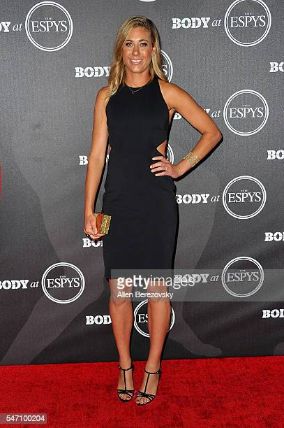 Professional beach volleyball player April Ross attends BODY At The ESPYs PreParty at Avalon Hollywood on July 12 2016 in Los Angeles California