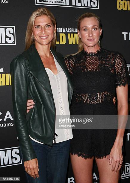Professional beach volleyball player Gabrielle Reece and professional beach volleyball player and threetime Olympic gold medalist Kerri Walsh...