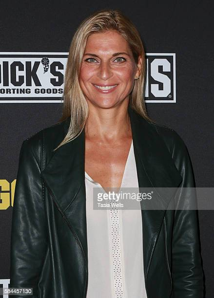 Professional beach volleyball player Gabrielle Reece attends the premiere of Kerri Walsh Jennings Gold Within at The Paley Center for Media on July...