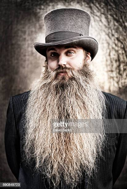 Professional Beard Competitor