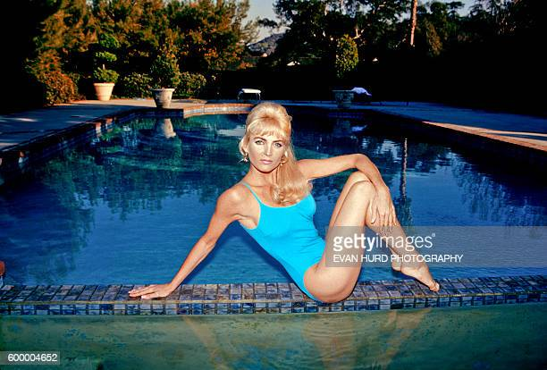 Professional body double queen Shelley Michelle poses for a portrait in Los Angeles