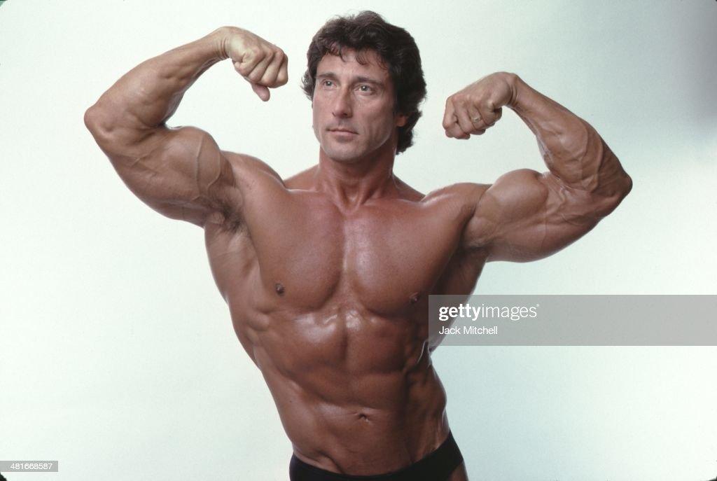 Bodybuilder Frank Zane : News Photo