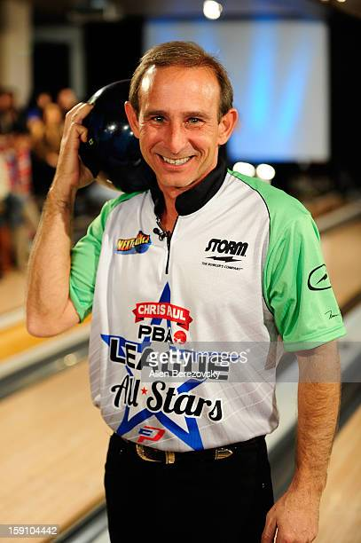 Professional bowler Norm Duke attends the 5th annual Chris Paul PBA AllStars Invitational hosted by LA Clippers star guard Chris Paul at Lucky Strike...