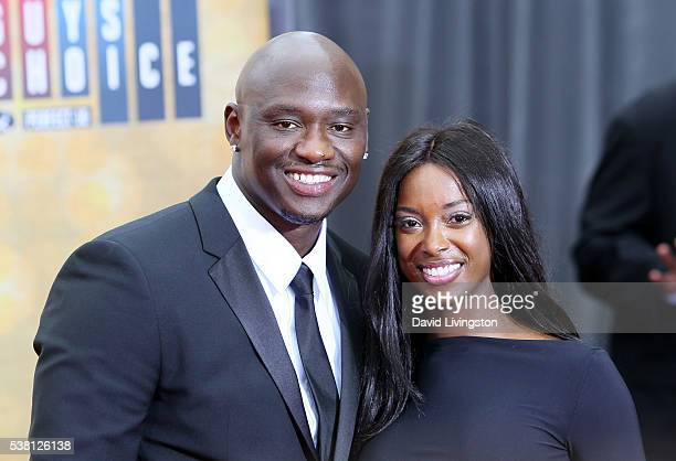 Professional boxer Antonio Tarver and Denise Tarver attend Spike TV's 'Guys Choice 2016' at Sony Pictures Studios on June 4 2016 in Culver City...