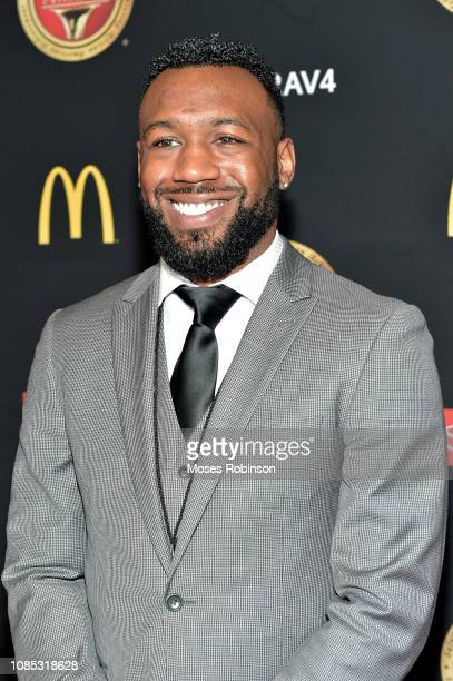 Professional boxer Austin Trout attends the 2019 Bounce Trumpet Awards on January 19, 2019 in Atlanta, Georgia.