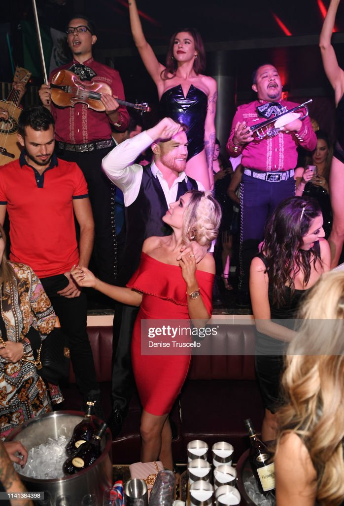 Ozuna Headlines And Canelo Álvarez Hosts His Fight After-Party At The All-New KAOS Nightclub At PALMS, Presented By Hennessy : News Photo