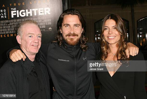 """Professional boxer Dickie Eklund, actor Christian Bale and wife Sibi Bale attend """"The Fighter"""" Los Angeles premiere on December 6, 2010 in Hollywood,..."""