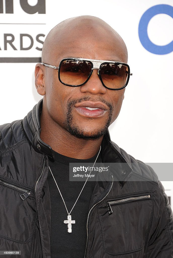 Professional boxer Floyd Mayweather Jr. arrives at the 2014 Billboard Music Awards at the MGM Grand Garden Arena on May 18, 2014 in Las Vegas, Nevada.