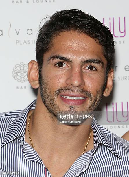 Professional boxer Jorge Linares attends a party for Alvarez Plastic Surgery at Lily Bar & Lounge at the Bellagio on July 17, 2015 in Las Vegas,...