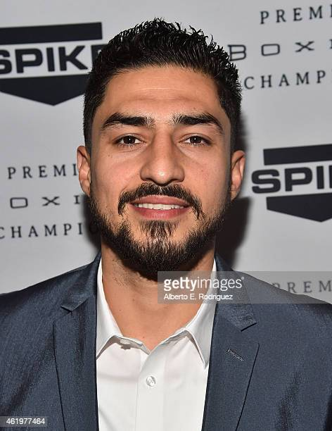 """Professional boxer Josesito Lopez attends Spike TV's announcement of it's new boxing series """"Premier Boxing Champions"""" on January 22, 2015 in Santa..."""
