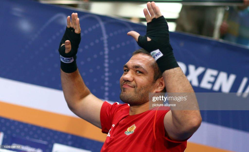 Pulev prepares boxing match : News Photo