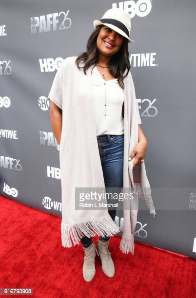 Professional Boxer Laila Ali attends Lalo's House Red Carpet Screening at Cinemark Baldwin Hills Crenshaw Plaza 15 on February 10 2018 in Los Angeles...