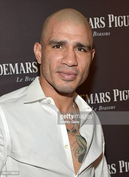 Professional boxer Miguel Cotto attends the Opening of Audemars Piguet Rodeo Drive at Audemars Piguet on December 9, 2015 in Beverly Hills,...