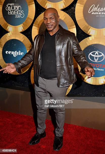 Professional boxer Mike Tyson attends the 2014 Soul Train Music Awards at the Orleans Arena on November 7 2014 in Las Vegas Nevada