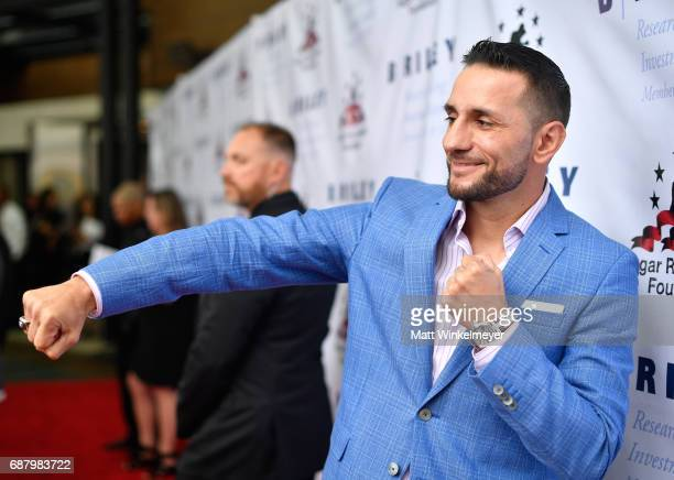 """Professional boxer Sergio Mora attends the B. Riley & Co. 8th Annual """"Big Fighters, Big Cause"""" Charity Boxing Night benefiting the Sugar Ray Leonard..."""