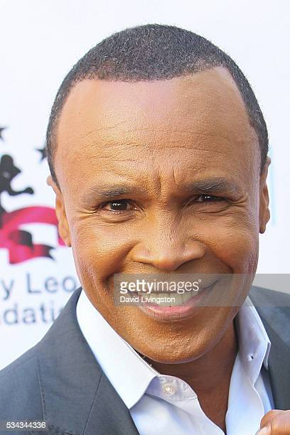 Professional Boxer Sugar Ray Leonard arrives at the 7th Annual Big Fighters Big Cause Charity Boxing Night Benefiting The Sugar Ray Leonard...