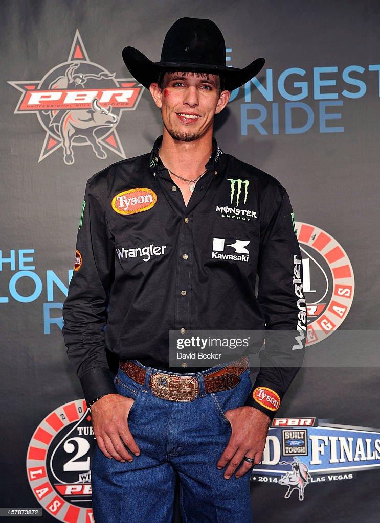 962cf0f5 Professional bull rider J.B. Mauney attends the Professional Bull ...