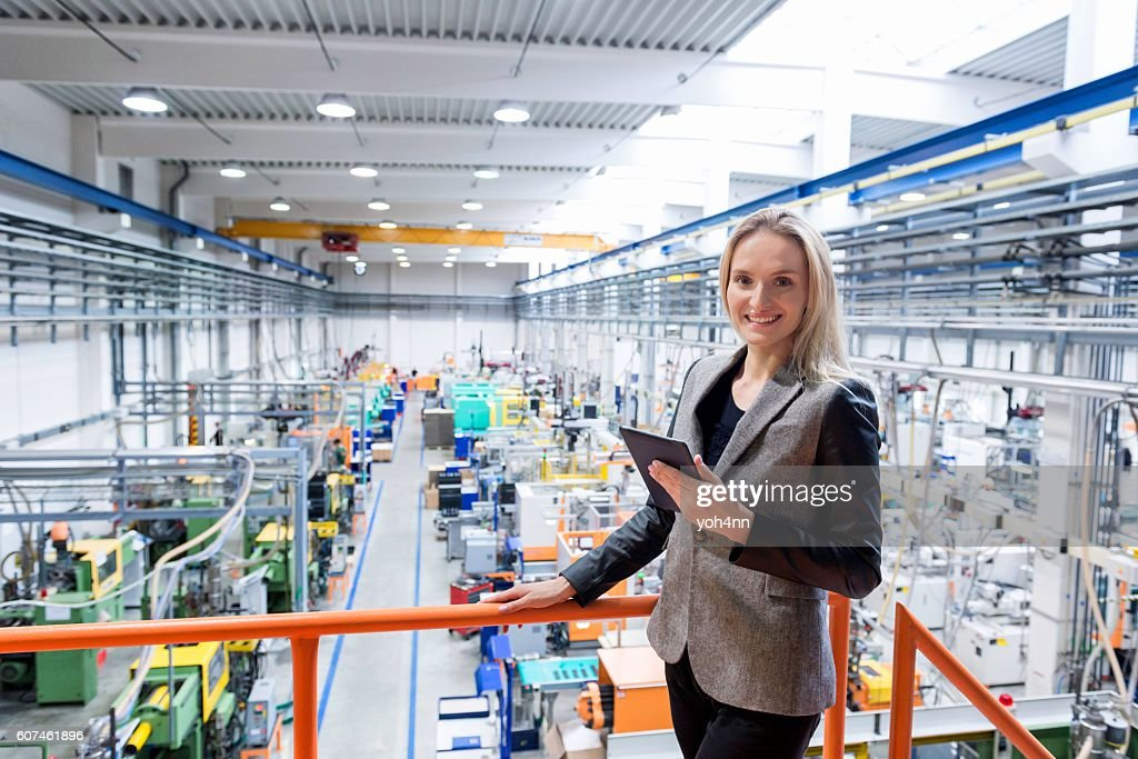 """Professional """"cheese"""" at factory! : Stock Photo"""
