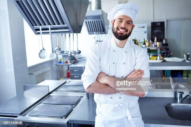 chef professionista - chef foto e immagini stock