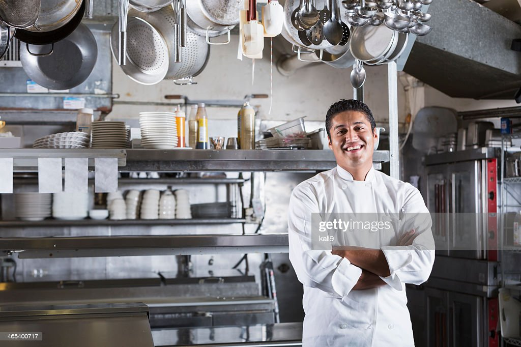 Professional chef : Stock Photo