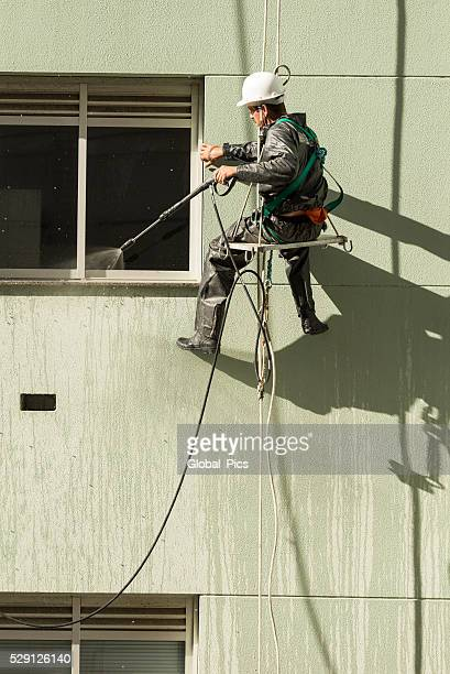 professional cleaner - high pressure cleaning stock pictures, royalty-free photos & images